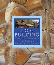 Cover of: Log Building | Peter Kvernland Thomsen