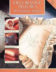 Cover of: Creative Pillows 10 Classic Styles | Cowles Creative Pub.