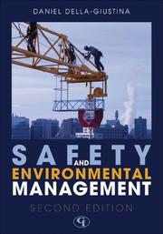 Cover of: Safety and Environmental Management | Della-Giustina Daniel