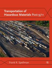 Cover of: Transportation of Hazardous Materials Post-9/11 | Spellman Frank