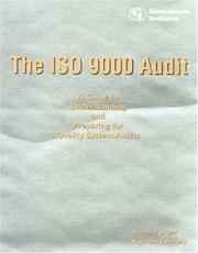 Cover of: The ISO 9000 Audit | Unger Darren P.