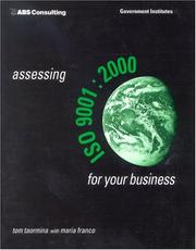 Cover of: Assessing ISO 9001:2000 for Your Business | Taormina Tom