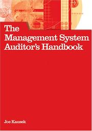 Cover of: The Management System Auditor's Handbook | Joe Kausek