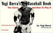 Cover of: Yogi Berra's Baseball Book | Howard Liss