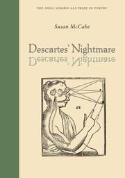 Cover of: Descartes' Nightmare (Agha Shahid Ali Prize in Poetry) | Susan McCabe
