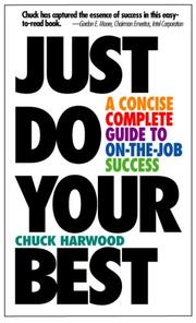 Cover of: Just Do Your Best | Chuck Harwood