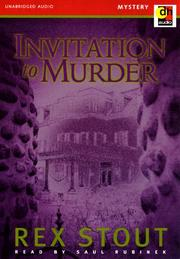 Cover of: Invitation to Murder by Rex Stout