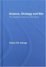 Cover of: Science, Strategy and War by Frans Osinga