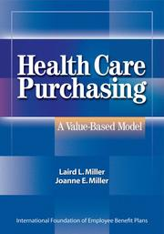Cover of: Health Care Purchasing by Laird Miller
