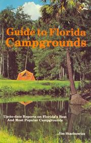 Cover of: Guide to Florida Campgrounds by Jim Stachowicz