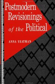 Cover of: Postmodern revisionings of the political by Anna Yeatman