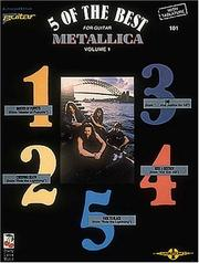 Cover of: Metallica - 5 of the Best/Vol. 1* (Play It Like It Is) | Metallica
