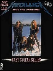 Cover of: Metallica - Ride the Lightning* (Play It Like It Is) by Metallica