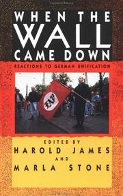 Cover of: When the Wall Came Down | Harold James