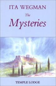 Cover of: The Mysteries | Ita Wegman
