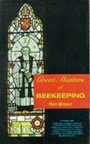 Cover of: Great Masters of Beekeeping | Ron Brown