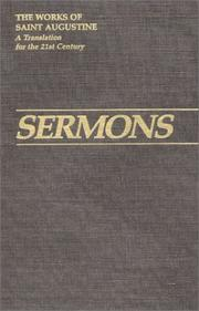 Cover of: Sermons 20-50 (Works of Saint Augustine) | Augustine of Hippo