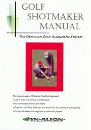 Cover of: Golf Shotmaker Manual | Craig Foster