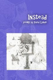 Cover of: Instead by David Lunde