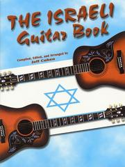 Cover of: The Israeli Guitar Book by Jeff Cohen