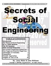 Cover of: Social Engineering | John J. Williams