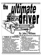Cover of: The Ultimate Driver by John J. Williams