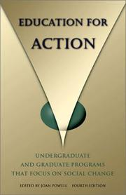 Cover of: Education for Action | Joan Powell
