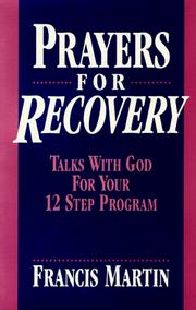 Cover of: Prayers For Recovery | Francis Martin