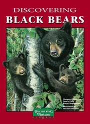 Cover of: Discovering Black Bears | Margaret Jean Anderson