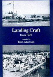 Cover of: Landing Craft from 1926 by John Atkinson