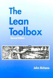 Cover of: The Lean Toolbox | John Bicheno