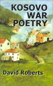 Cover of: Kosovo War Poetry by David Roberts