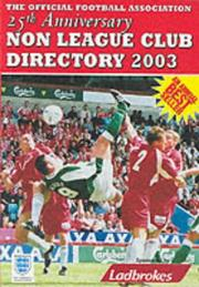 Cover of: The Non-league Club Directory | Tony Williams