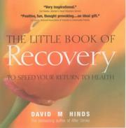 Cover of: The Little Book of Recovery | David M. Hinds