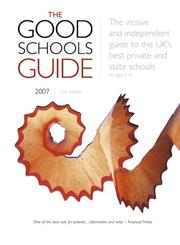 Cover of: The Good Schools Guide 2007 | Ralph Lucas