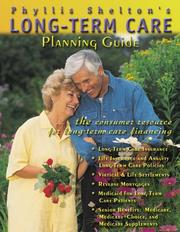 Cover of: Long-Term Care Planning Guide, 2000 Version | Phyllis R. Shelton