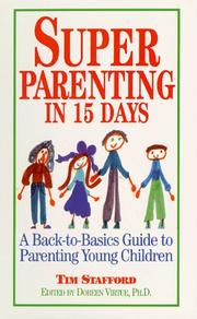 Cover of: Super Parenting in 15 Days | Tim Stafford