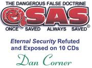 Cover of: Eternal Security Audio Series | Dan Corner