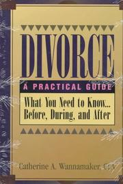Cover of: Divorce | Catherine A. Wannamaker