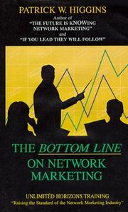 "Cover of: ""The Bottom Line On Network Marketing"" 