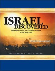Cover of: Israel Discovered | Daniel Rosenthal