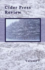 Cover of: Cider Press Review, Volume 7 | Caron Andregg & Robert Wynne