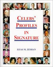 Cover of: Celebs' Profiles in Signature | Ilyas M. Zeshan