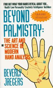 Cover of: Beyond palmistry | Beverly Jaegers