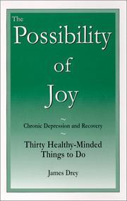 Cover of: The Possibility of Joy by James Drey