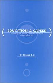Cover of: Education and Career | Richard T. Li