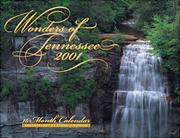 Cover of: Wonders of Tennessee (Wonders Calendars) | Byron Jorjorian