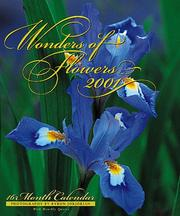 Cover of: Wonders of Flowers (Wonders Calendars) | Byron Jorjorian