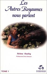 Cover of: Les Autres Royaumes nous parlent, Tome 1# | Helena Hawley