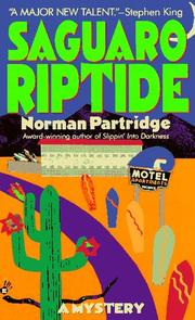 Cover of: Saguaro Riptide | Norman Partridge